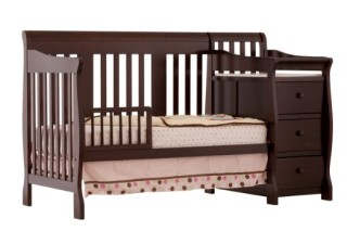 Stork Craft Portofino 4-in-1 Convertible Crib review