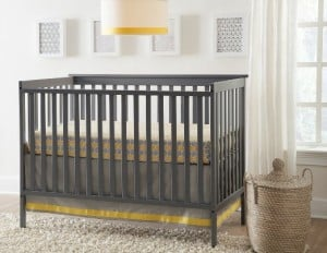 Stork Craft Sheffield Fixed Side Convertible Crib