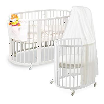 Stokki Round Baby Crib