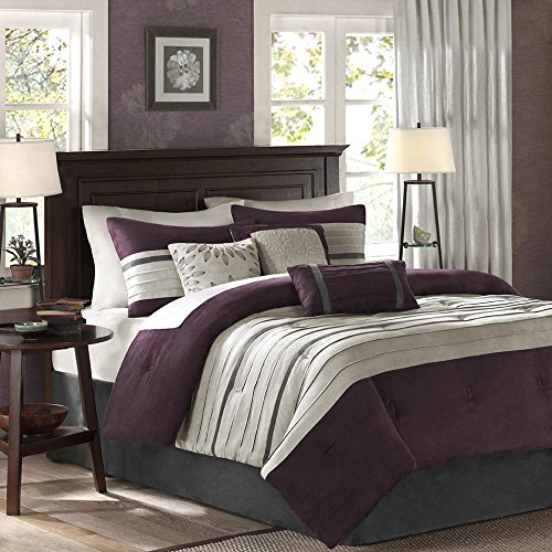 Madison Park Plum Comforter