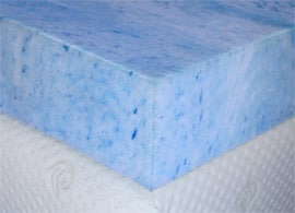 gel foam cross section
