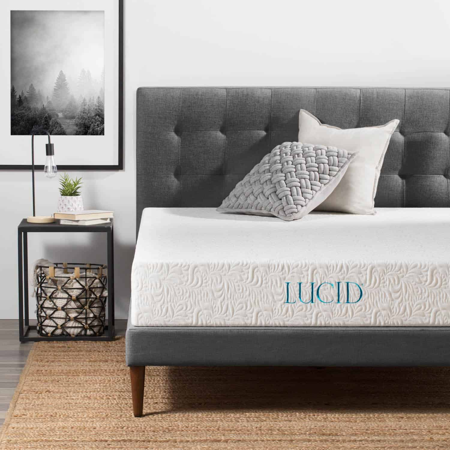 Lucid 10inch Memory Foam Mattress Review