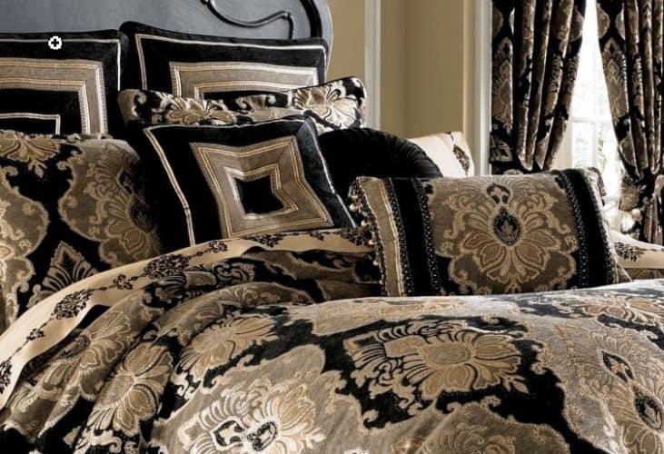 Bradshaw Black Comforter Set - Inspiration of the Month