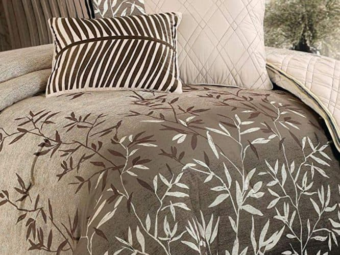 Taupe Luxury Comforter Set - Inspiration of the Month