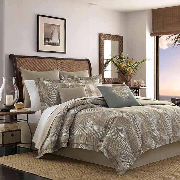 Tommy Bahama Raffia Palm Comforter Set