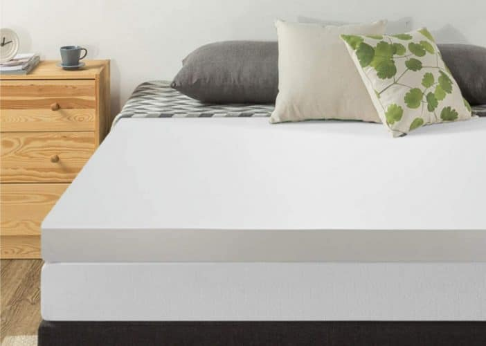 Best Price Mattress 4in Memory Foam Mattress Topper