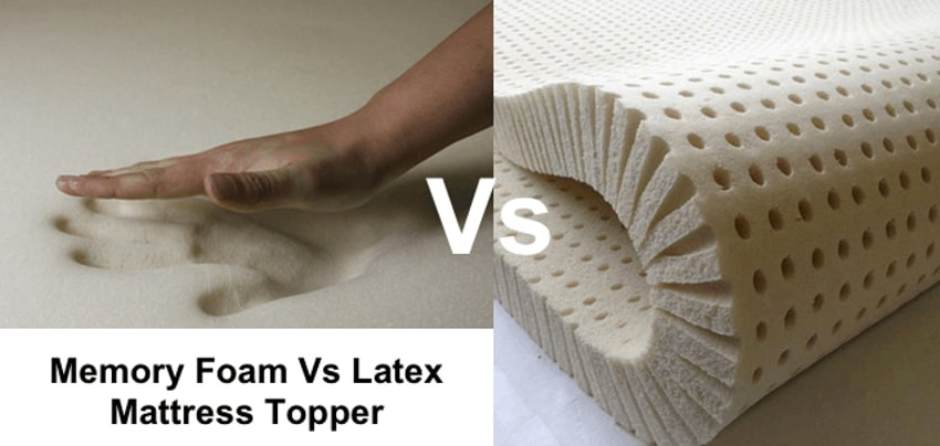 Memory Foam vs Latex Mattress Topper