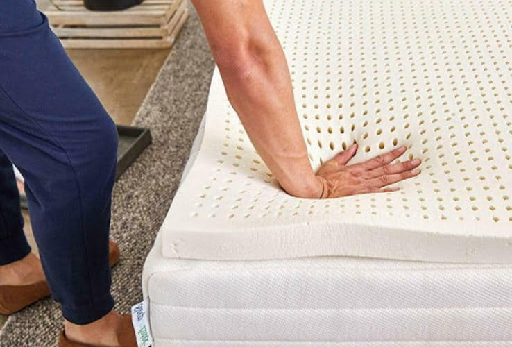 Pure Green 100pct Natural Latex Mattress Topper Featured